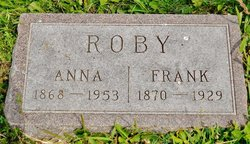 """William Franklin """"Frank"""" Roby"""