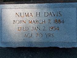 Numa Henry Davis
