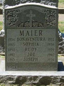 Sophia <I>Ruebenacker</I> Maier