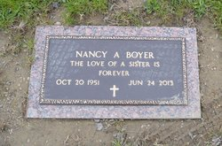 Nancy A Boyer