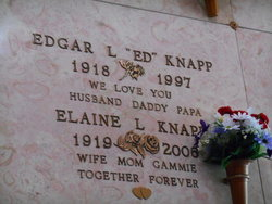 "Edgar L ""Ed"" Knapp"
