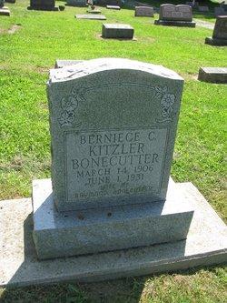 Berniece C. <I>Kitzler</I> Bonecutter