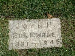 Judge John Harold Solkmore