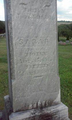 Sarah <I>Cuffman</I> Savory