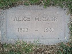 Alice May <I>Overand</I> Carr
