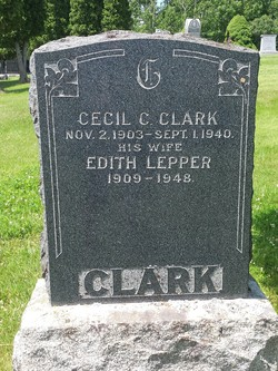 Edith Frances <I>Lepper</I> Clark