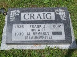 "Francis Joseph ""Frank"" Craig"