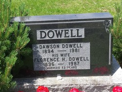 Florence Helen <I>Thomas</I> Dowell