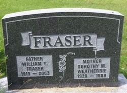 William Tattrie Fraser