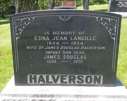 Edna Jean <I>Langille</I> Halverson