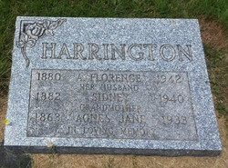Agnes Jane <I>Mingo</I> Harrington