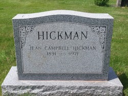 Jean <I>Campbell</I> Hickman