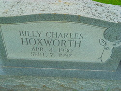 Billy Charles Hoxworth