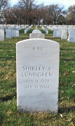 Shirley Ann <I>Larson</I> Lundgren