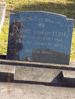 Mary <I>Finch</I> Lush