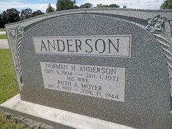 Ruth A. <I>Moyer</I> Anderson