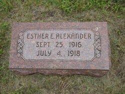 Esther E. Alexander