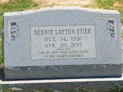 Bennie Layton Etier