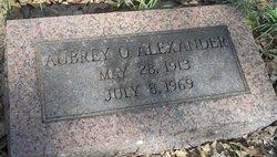 Aubrey O. Alexander