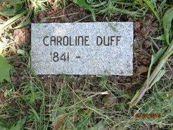 Caroline <I>Cunningham</I> Duff