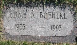 Edna A Boehlke