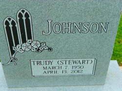 Trudy <I>Stewart</I> Johnson
