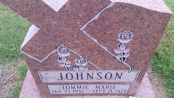 Tommie Marie Johnson