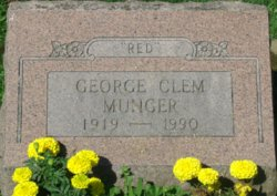 """George Clem """"Red"""" Munger"""
