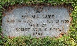 Wilma Faye <I>Brammer</I> Sites
