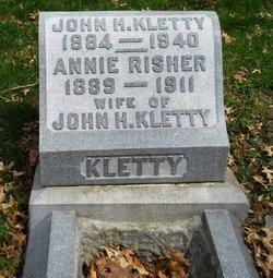 Annie <I>Risher</I> Kletty