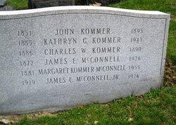 Margaret <I>Kommer</I> McConnell