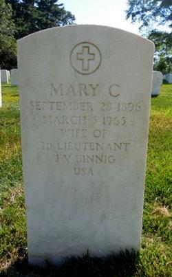 Mary C Binnig