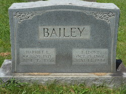Harriet L. <I>Saunders</I> Bailey