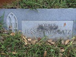 Jessie Fay <I>Bowman</I> Blatz