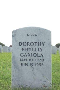 Dorothy Phyllis Gaxiola