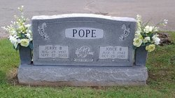 """Joyce Helen """"Jocy"""" <I>Barnette</I> Pope"""
