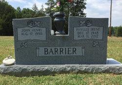 Phyllis Irene <I>Hill</I> Barrier