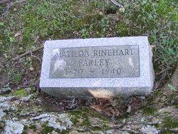 Matilda <I>Rinehart</I> Farley