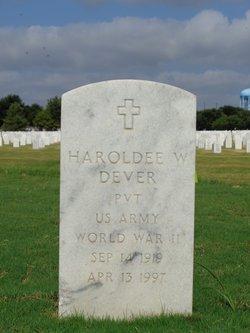 Haroldee W Dever