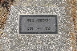 """Johann Friedrich """"Fred"""" Mahnken"""