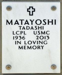 """Tadashi """"Tada"""" Matayoshi"""