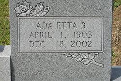 Ada Etta Capps