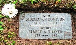 Georgia Katherine <I>Thayer</I> Thompson