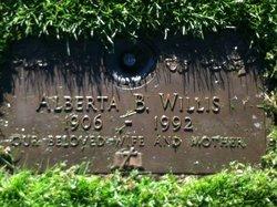 Alberta Beatrice <I>Moss</I> Willis