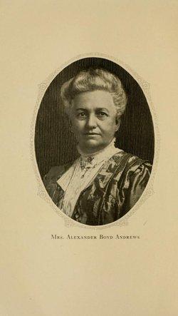 Julia Martha <I>Johnston</I> Andrews