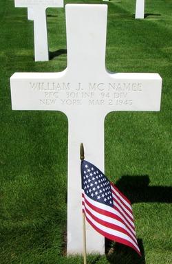 PFC William J McNamee