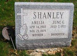 Amelia <I>Weber</I> Shanley