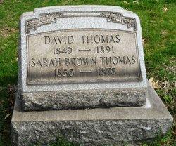 Sarah <I>Brown</I> Thomas