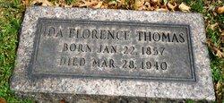 Ida Florence <I>Boggs</I> Thomas