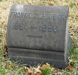 Frank D. Zahniser